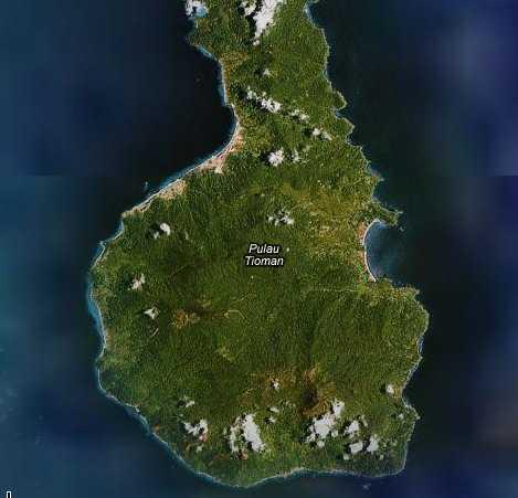 ティオマン島南部